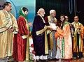 The Prime Minister, Shri Narendra Modi distributes the awards to students, at the 5th Convocation of Shri Mata Vaishno Devi University, at Katra, in Jammu and Kashmir (6).jpg
