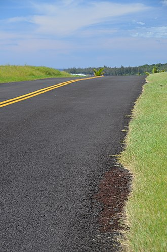 Hawaii Route 137 - Image: The Red Road panoramio (2)