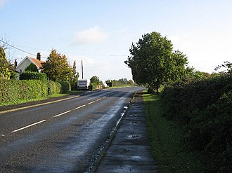 Whinburgh and Westfield - Image: The Road to Whinburgh geograph.org.uk 294719