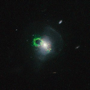 Hanny's Voorwerp - Image: The Teacup Galaxy SDSS 1430