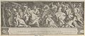 The Triumph of Two Roman Emperors (left-hand side) with soldiers on horseback and men, women, and children fleeing MET DP836948.jpg
