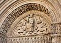 The Tympanum of Cathedrale Saint-Trophime d`Arles 亞爾聖菲姆教堂山形面 - panoramio.jpg