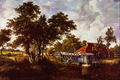 The Watermill with the Red Roof - Meindert Hobbema.png