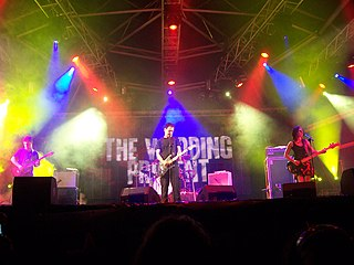 The Wedding Present British indie rock group