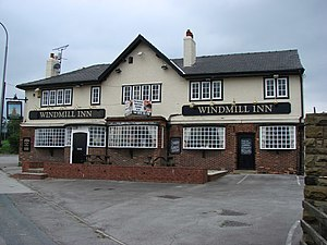 Foulby - The Windmill Inn in Foulby.