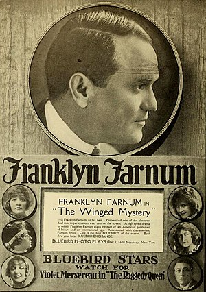 Franklyn Farnum - The Winged Mystery (1917)