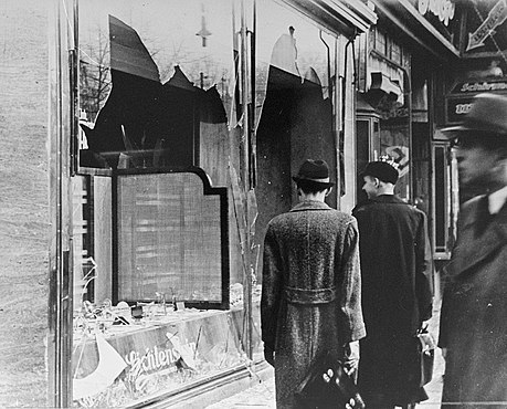 The day after Kristallnacht