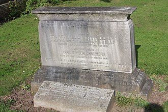 William Hanna (minister) - The grave of Rev William Hanna, Grange Cemetery, Edinburgh