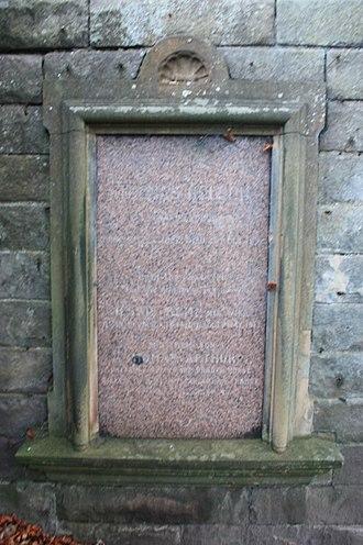 Thomas Arthur Nelson - The grave of Thomas Nelson, Grange Cemetery, Edinburgh