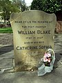 The grave of William Blake (on St George's Day) - geograph.org.uk - 775823.jpg