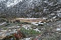 The place for the camp. Morning of the 20th day of the hike. Barun trekking for the people. GPS exactly. - panoramio.jpg