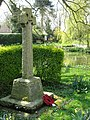 The war memorial, Hastingleigh - geograph.org.uk - 1246188.jpg
