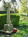 The war memorial, Hastingleigh - geograph.org.uk - 1246188.jpg