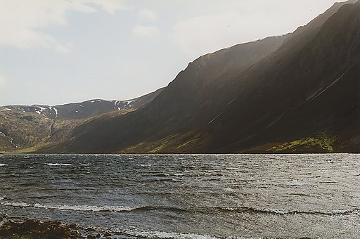 The west side of Loch Einich - geograph.org.uk - 708002