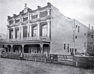 Isaac Theatre Royal - Theatre Royal in 1907