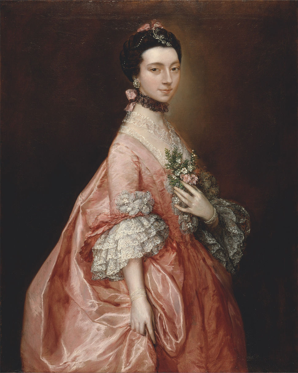 Thomas Gainsborough - Mary Little, Later Lady Carr - Google Art Project