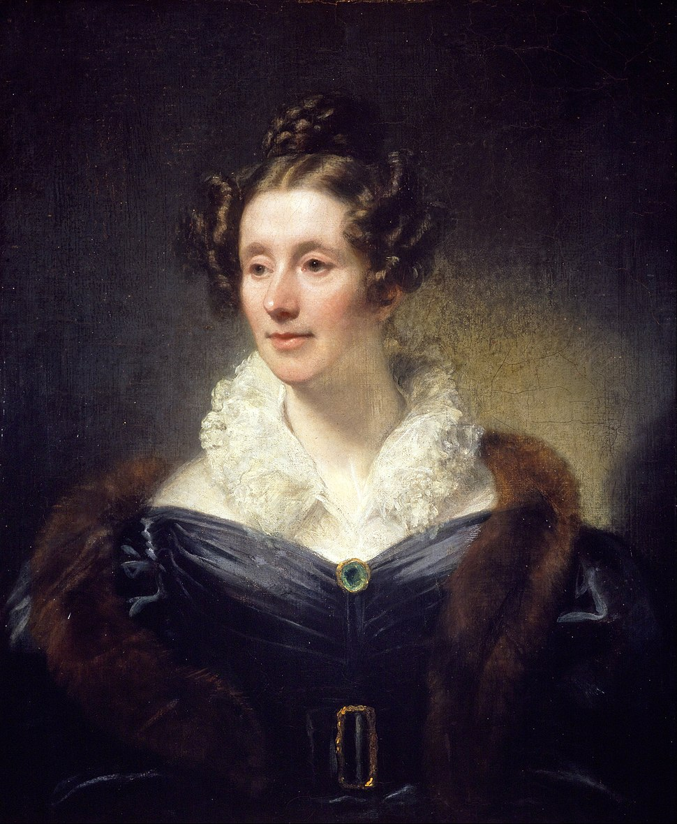 Thomas Phillips - Mary Fairfax, Mrs William Somerville, 1780 - 1872. Writer on science - Google Art Project