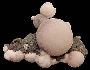 Zeolite - A form of thomsonite (one of the rarest zeolites) from India