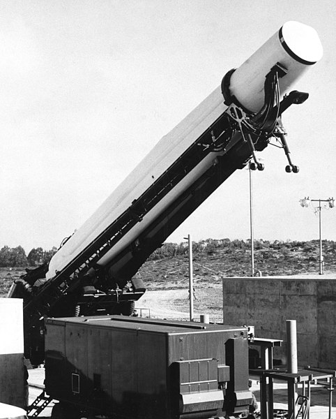 File:Thor missile prepared for launch.jpg