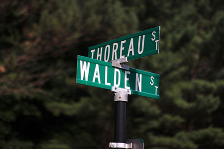 Thoreau and Walden Streets in Concord, Mass.JPG