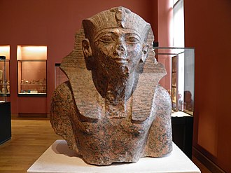Thutmose IV - Granite bust of Thutmose IV