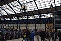 Ticket Barriers and Clock at Brighton Station.jpg
