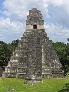 Ruins of major ancient Maya city
