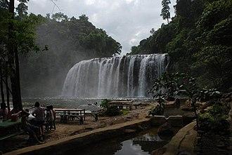 Surigao del Sur - Image: Tinuy an Falls, April 2011