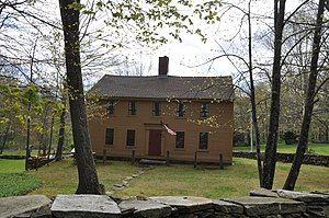 National Register of Historic Places listings in Tolland County, Connecticut - Image: Tolland CT John Cady House