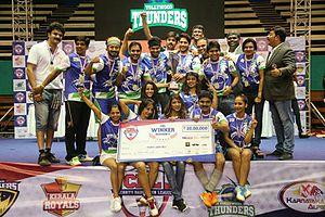 Celebrity Badminton League - Winners - CBL Season 1