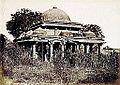 Tomb near Achut Bibi's Mosque Ahmedabad 1866.jpg