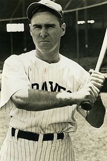 Tommy Holmes American baseball player and manager