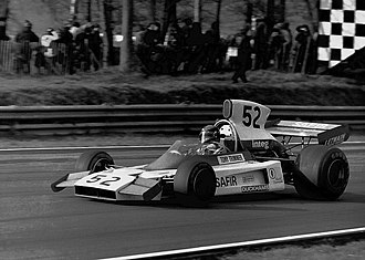 Tony Trimmer - Trimmer at the 1975 Race of Champions