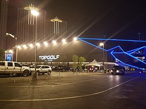 TopGolf - Image: Top Golf Vegas front