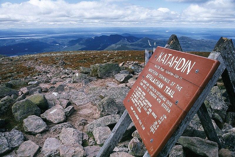 800px Top of Mount Katahdin