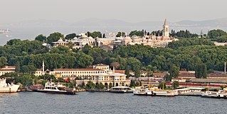 Topkapı Palace palace in Istanbul, Turkey; primary residence of the Ottoman sultans for approximately 400 years (1465–1856)