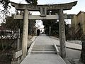 Torii of Shingu Shrine in Shingu, Kasuya, Fukuoka.jpg