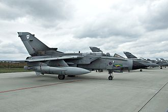 No. 13 Squadron RAF - A Tornado of No. 13 Squadron as seen at the 2007 CIAF air show in the Czech Republic