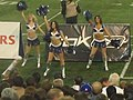 Toronto Argonauts Blue Thunder Cheerleaders, Rogers Centre, October 27 2005.jpg