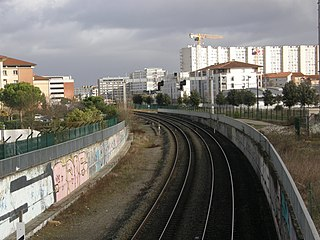 Toulouse railway network railway system in Toulouse, France