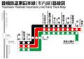 Toyotetsu AzumadaLine Map.png