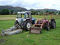 Tractors on a Croft in Londubh - geograph.org.uk - 36766.jpg