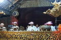 Traditional puppet show musicians, Bagan, Myanmar - 20141209-01.JPG