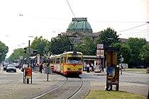 Tram at Muhlburger Tor - geo.hlipp.de - 4631.jpg