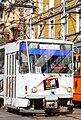 Tram in Sofia near Central mineral bath 2012 PD 024.jpg