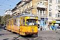 Tram in Sofia near Central mineral bath 2012 PD 055.jpg