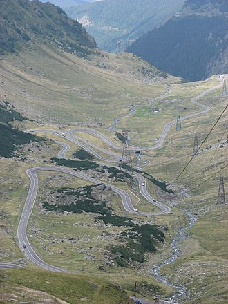 "Road - Transfăgărășan called ""the best road in the world"" by Top Gear"