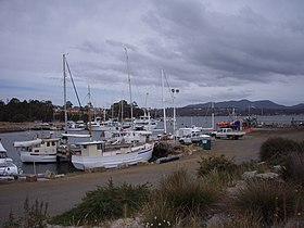 Le port de Triabunna