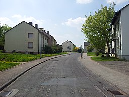 Burgunder Straße in Trier
