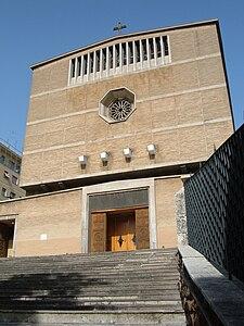 Chiesa di san pio x roma wikipedia for Piazza balduina
